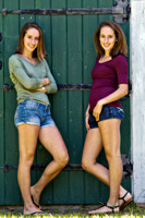 Anna and Renee - Seniors 2014